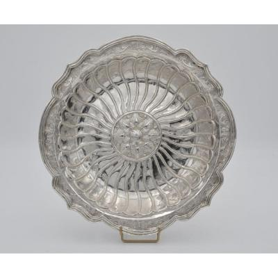 Silver Bowl, Mexico Eighteenth Century By Diego Gonzales De La Cueva
