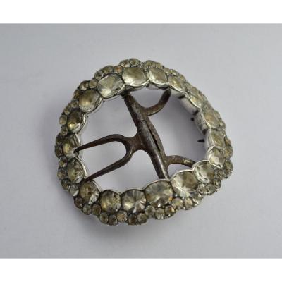 Boucle De Chaussure En Argent , France XVIIIe Siècle