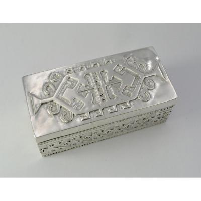 Box In Foreign Silver, 20th Century