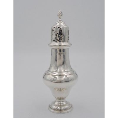 English Silver Sprinkler, London 1913