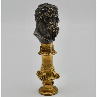 Sceau En Bronze XIXeme  De F. Barbedienne