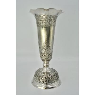 Silver Trumpet Cup / Southeast Asia / Siam Cambodia