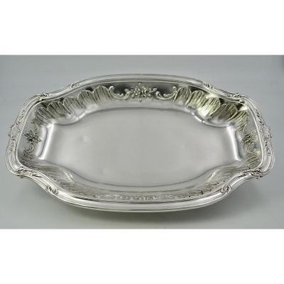 Louis XV Style France Silver Basket
