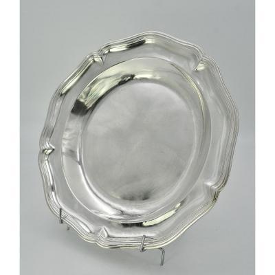 Dish / Silver Plate France Paris Around 1768-1774