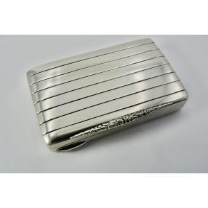 Box / Snuffbox In Silver Art Deco Period Nordic Work