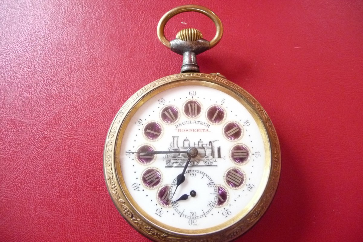 Station Manager Regulator Watch Early 20th Century