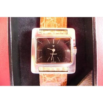 Tissot Bracelet Watch (unisex) In Silver With A (vintage Design) 70s