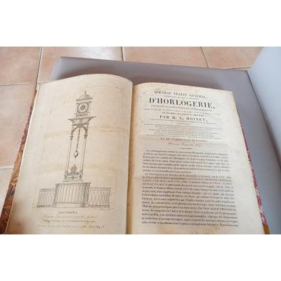 General Treaty Of Watchmaking De Moinet. Dutertre Paris 1848.