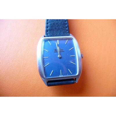 Montre Bracelet Homme En Acier De Marque Bulova , Mouvement Accutron Des Années 70.