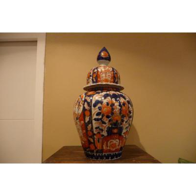 Pot Couvert Imari époque XIXeme