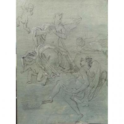 Niccolo Ricciolini (1687-1772) Allegory Of Hope