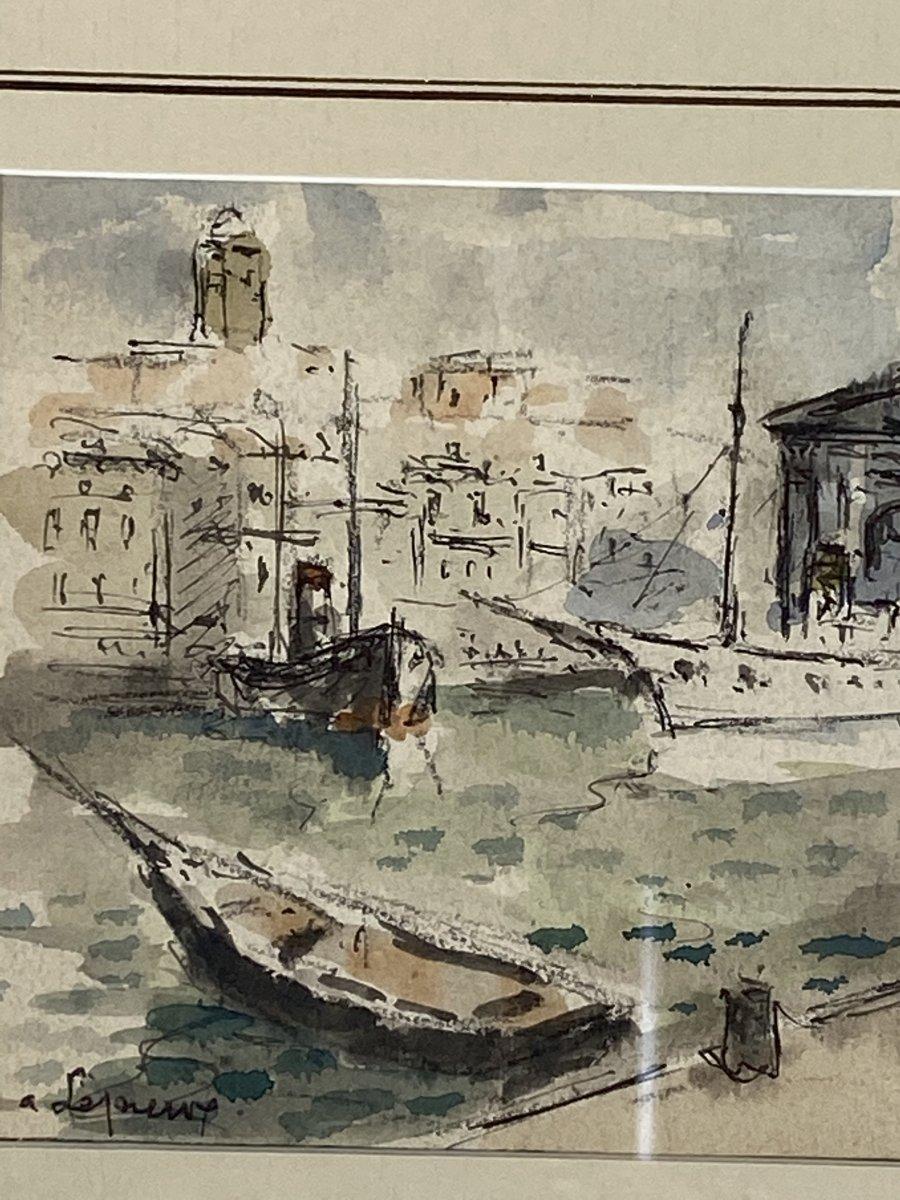 Albert Lepreux Le Port De Marseille-photo-1