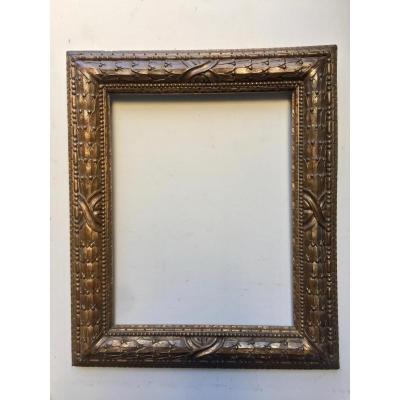 Golden Wood Frame 19th Century