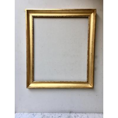 19th Golden Wood Frame