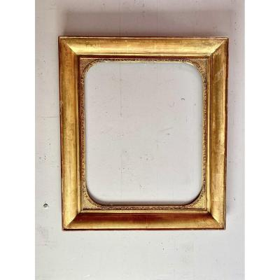 19th Golden Wood Frame