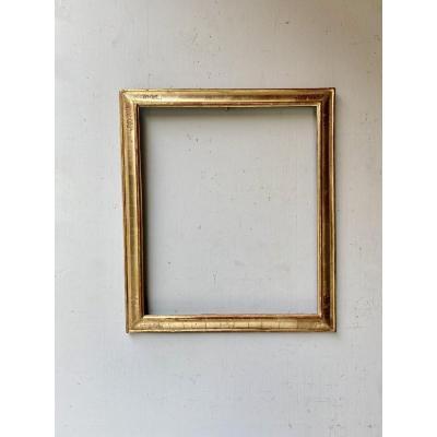 18th Century Golden Wood Frame