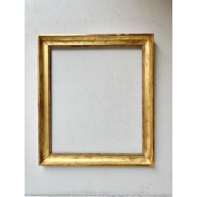 Nineteenth Century Golden Wood Frame