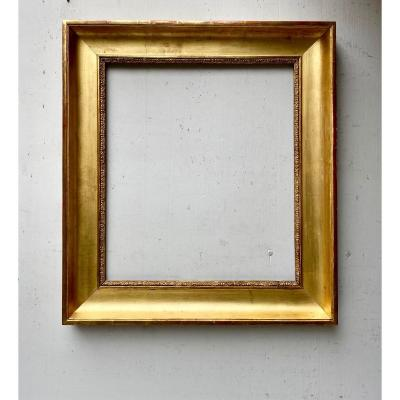 19th Century Golden Wood Frame
