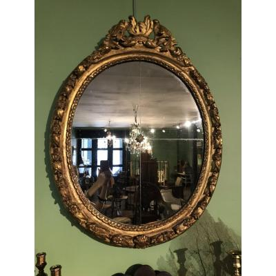 Cadre Louis XIV monté en miroir
