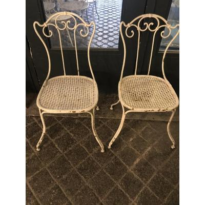 Pair Of Nineteenth Chairs