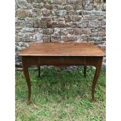 Table-bureau Louis XV