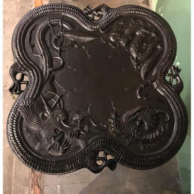 Guéridon Indochinois Fin XIXème
