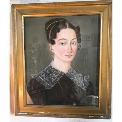Portrait Of A Woman Around 1820