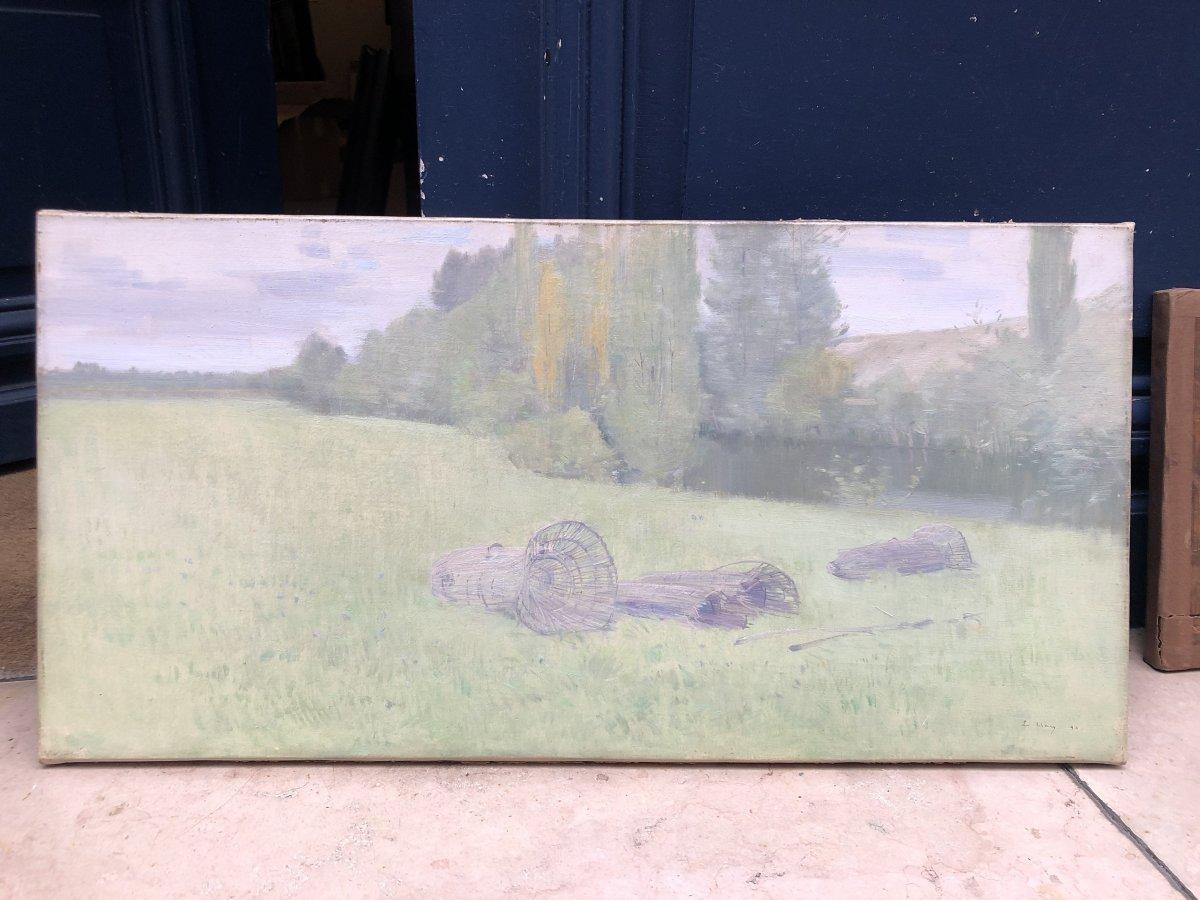Wicker In A Meadow - Eugene Clary