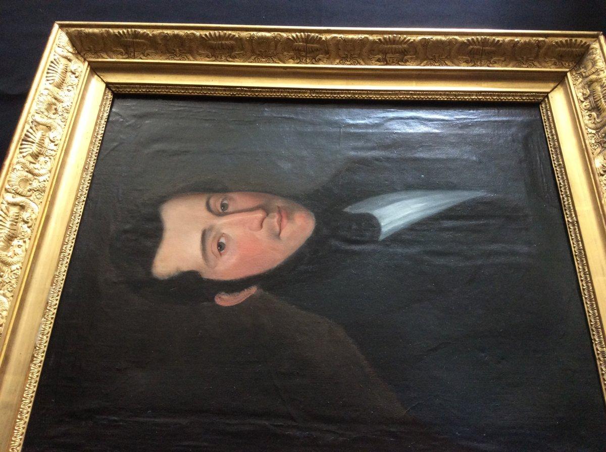 Portrait Of The Second Empire Period Man.-photo-4