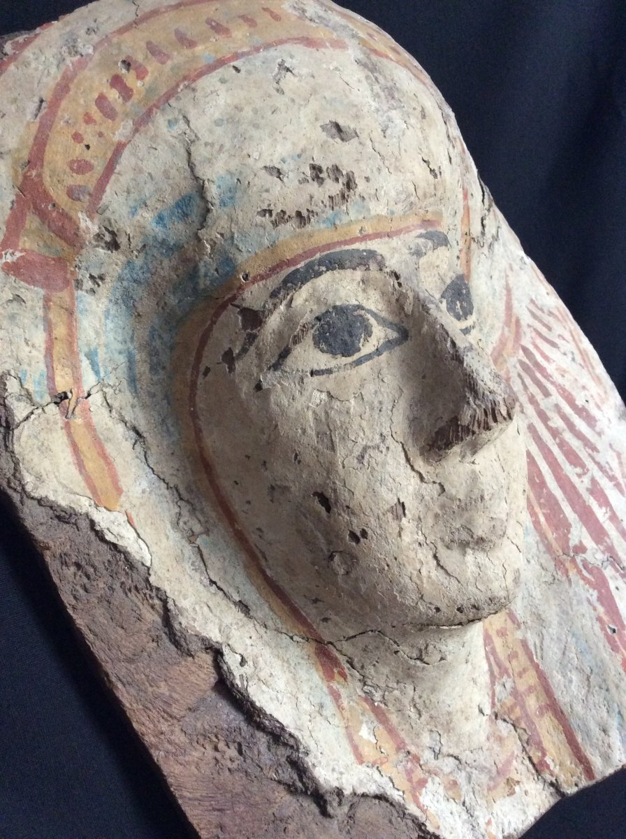 Funeral Mask Egypt 3rd Intermediate Period 1069-664 Ac-photo-2