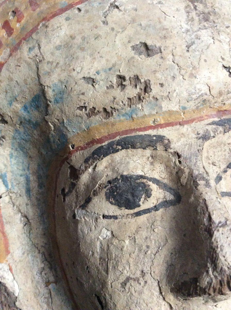 Funeral Mask Egypt 3rd Intermediate Period 1069-664 Ac-photo-3