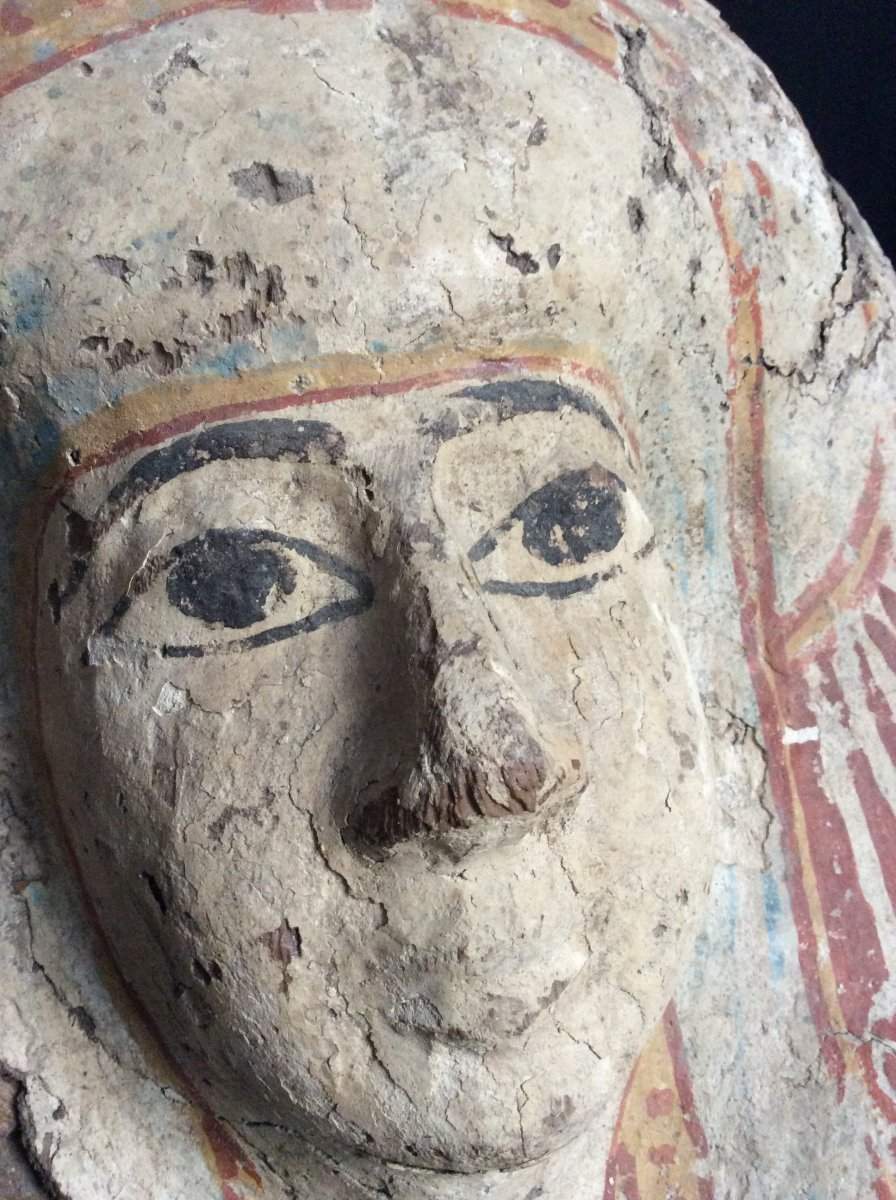 Funeral Mask Egypt 3rd Intermediate Period 1069-664 Ac-photo-5