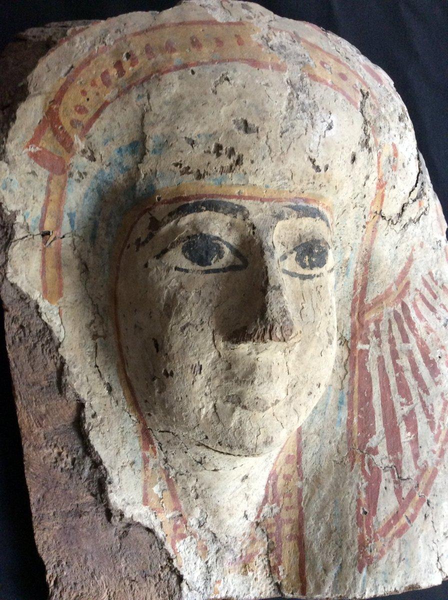 Funeral Mask Egypt 3rd Intermediate Period 1069-664 Ac-photo-7