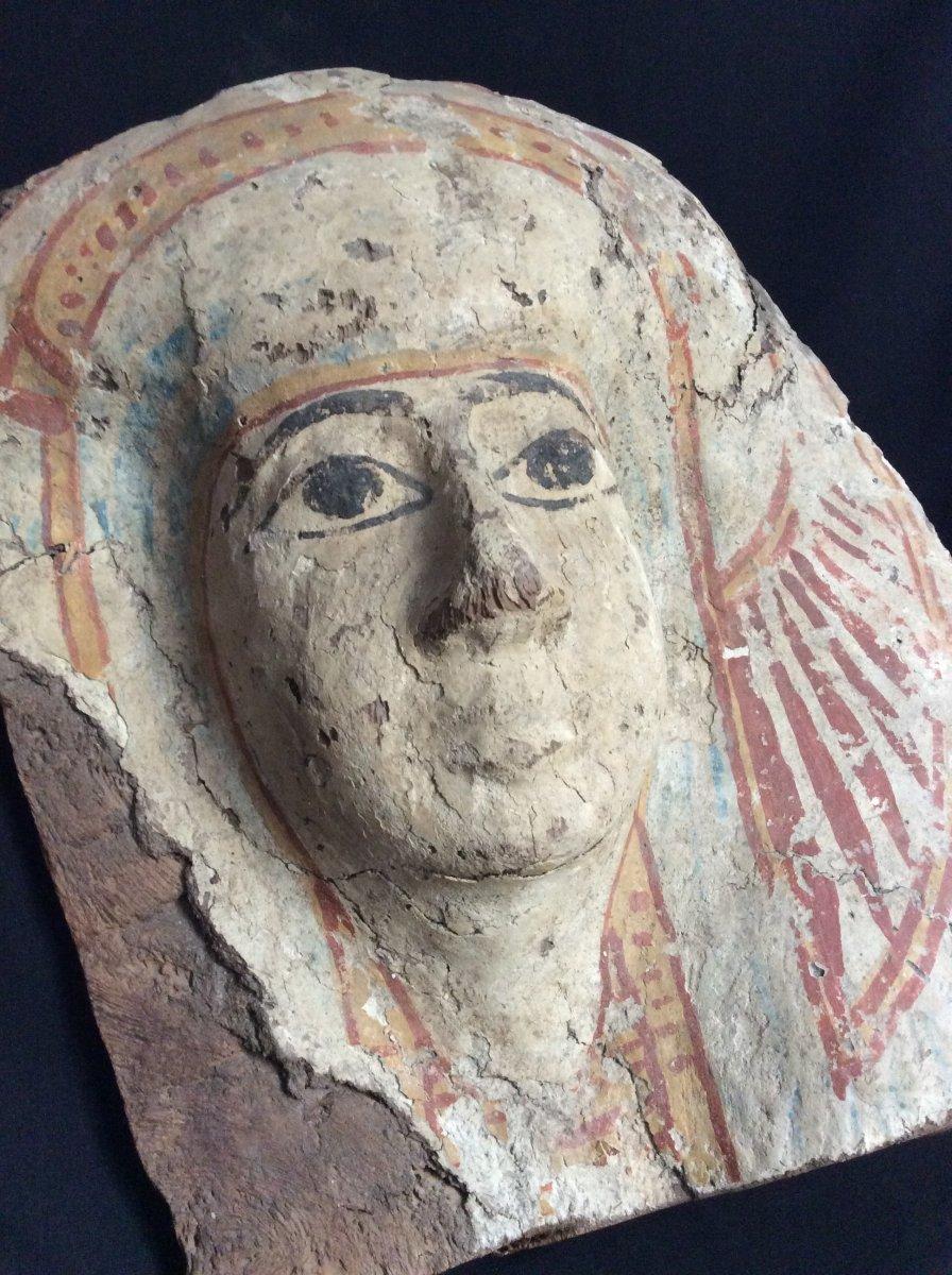 Funeral Mask Egypt 3rd Intermediate Period 1069-664 Ac-photo-8