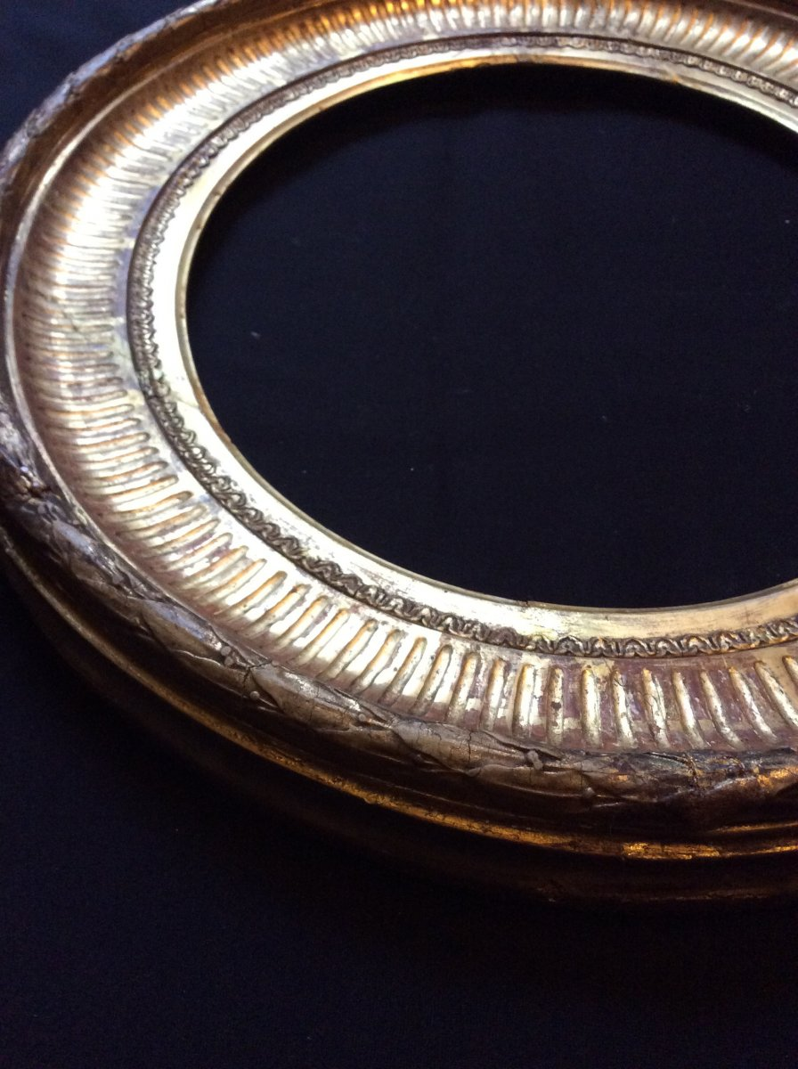 Cadre Ovale XIXème Siècle -photo-1