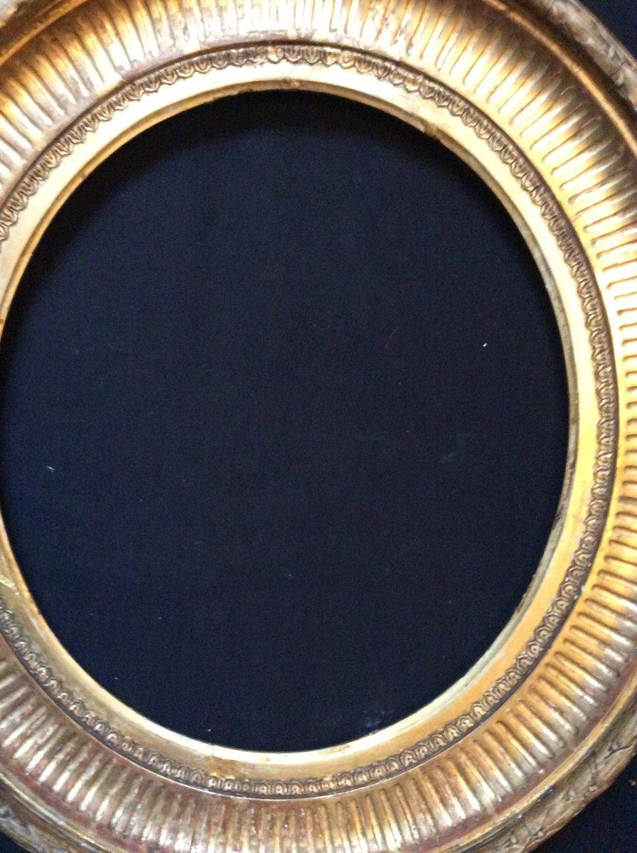 Cadre Ovale XIXème Siècle -photo-2