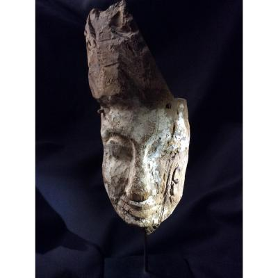 Egyptian Mask, From A Sarcophagus ..