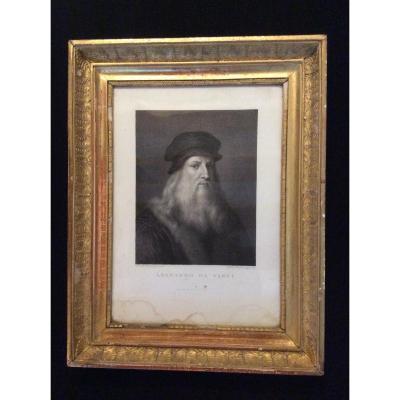 Gravure Leonardo da Vinci