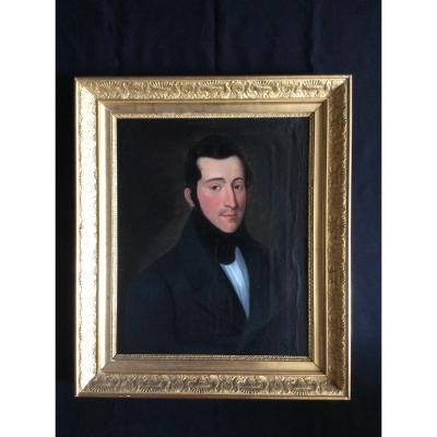 Portrait Homme époque Second Empire.