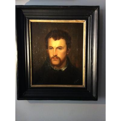 Portrait Signed B. Ducos