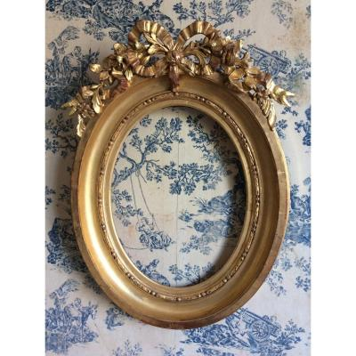 Louis XV Style Oval Frame