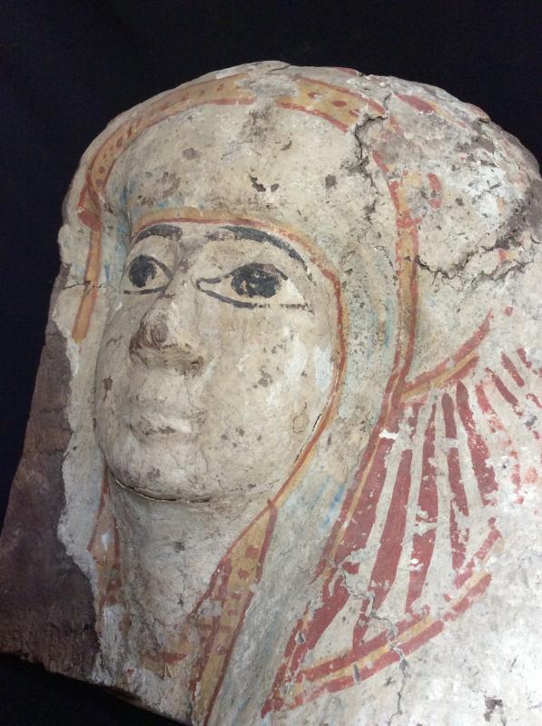 Funeral Mask Egypt 3rd Intermediate Period 1069-664 Ac-photo-4