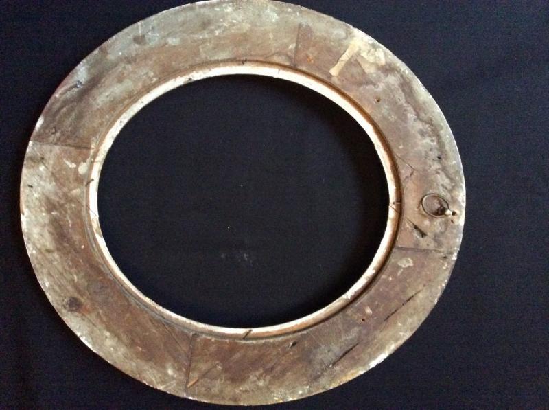 Cadre Ovale XIXème Siècle -photo-3