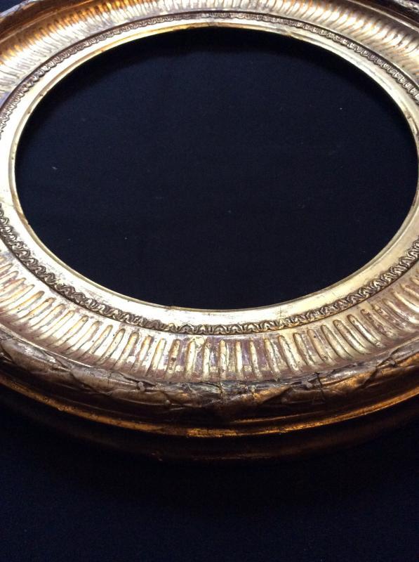 Cadre Ovale XIXème Siècle -photo-4