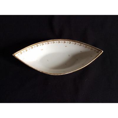 Ravier En Porcelaine De Sèvres époque Charles X