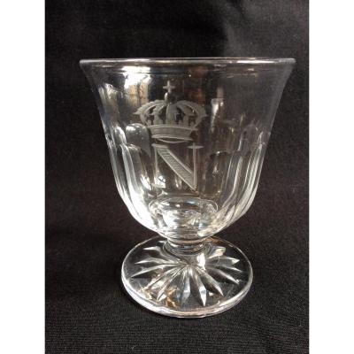 Baccarat Napoleon III Crystal Glass