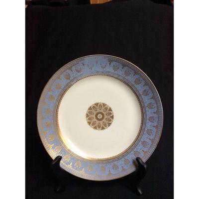 Assiette Plate Sèvres  1854