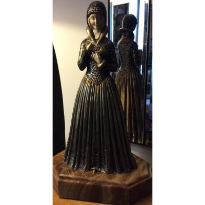 Sculpture art déco Demetre Chiparus 1886-1947