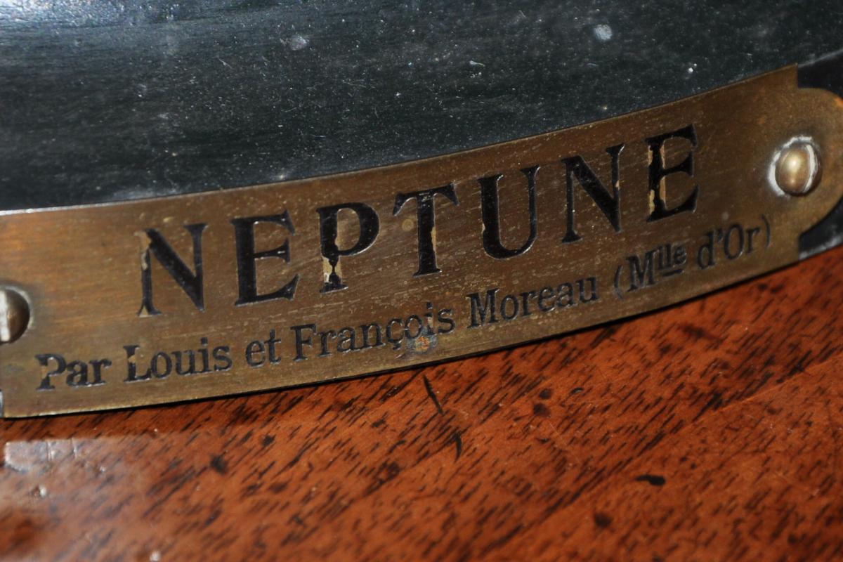 Neptune Signé Louis Et François Moreau-photo-4