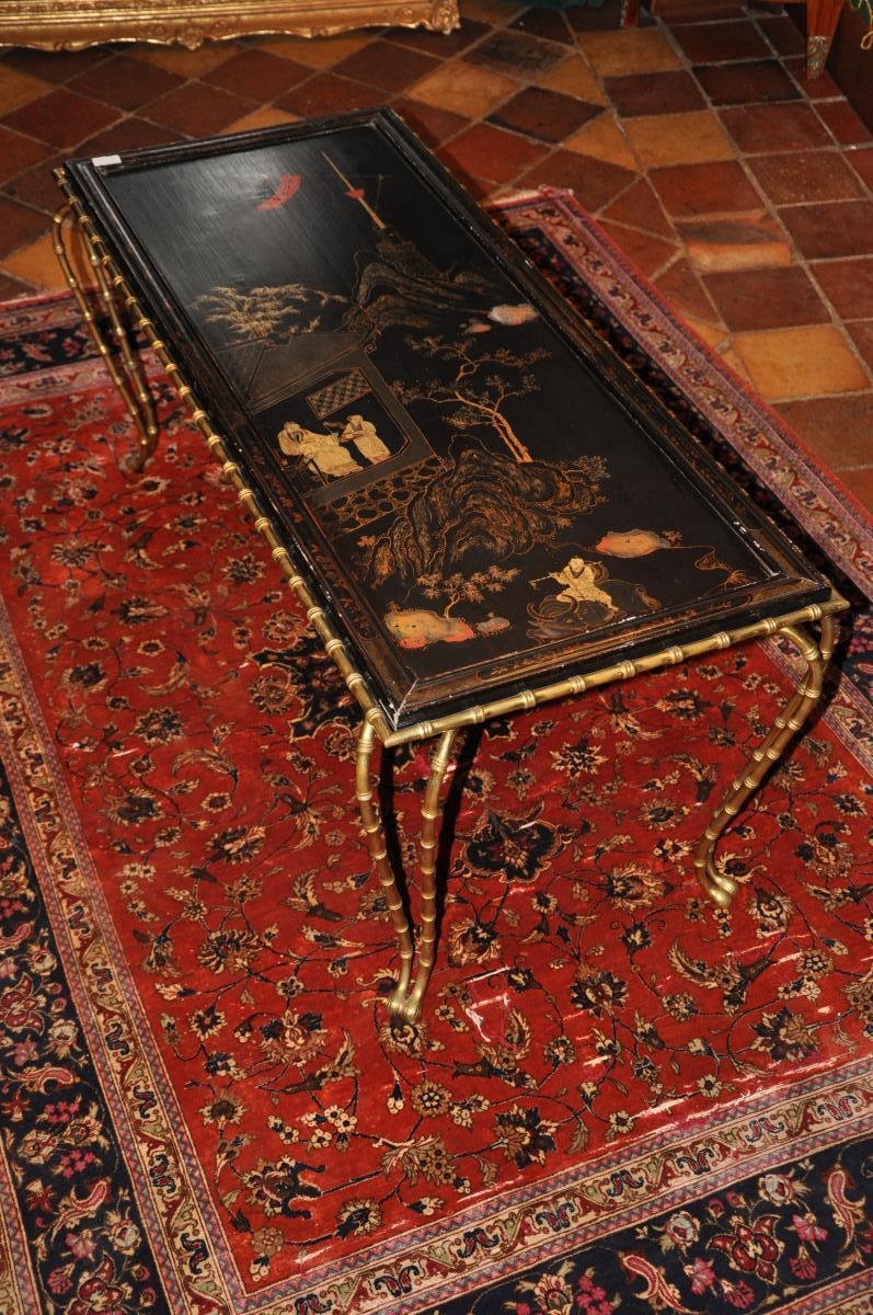 Table Basse De Style Bagues